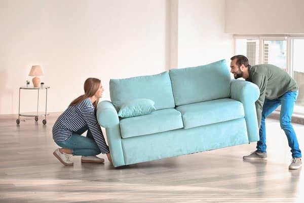 Recogida de muebles en Alcalá de Henares