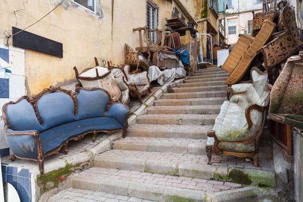 Recogida de muebles en Móstoles